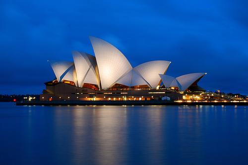 I was in : AUSTRALIA